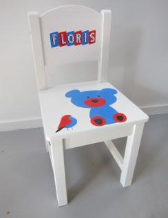 Floris', Kraamcadeau stoeltje in opdracht € 75,-