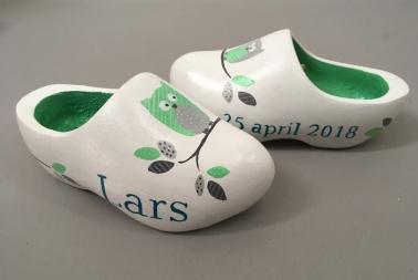 'Lars', kraamcadeau klompjes €35,-