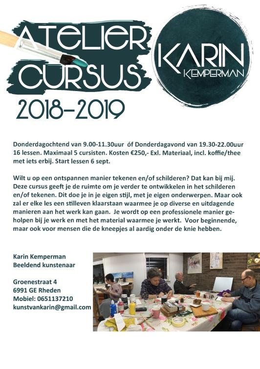 ateliercursus 2018-2019